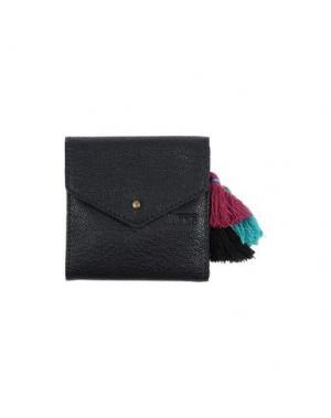Бумажник VANS. Цвет: черный