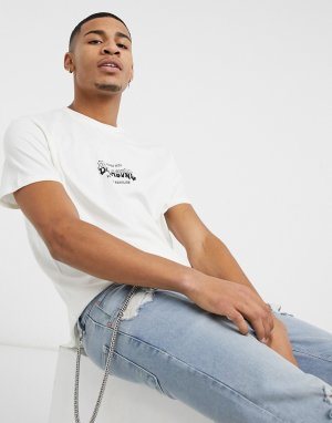 Белая футболка Supply Wave-Белый Billabong