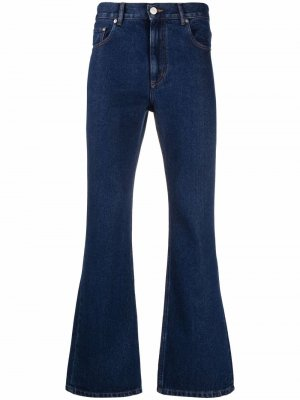 Расклешенные джинсы Ernest W. Baker. Цвет: синий