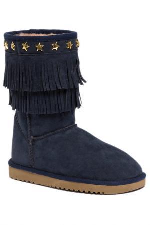 Угги U.S. Polo Assn.. Цвет: 200 темно-синий