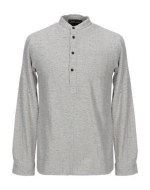 Pубашка ANERKJENDT. Цвет: серый