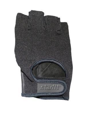Перчатки для фитнеса STARFIT SU-114, черный,. Цвет: черный