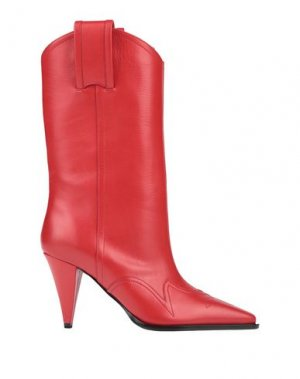 Полусапоги и высокие ботинки NINA RICCI. Цвет: красный