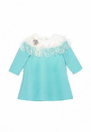 Платье Трия. Цвет: бирюзовый