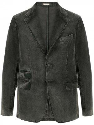 Вельветовый пиджак Catch Massimo Alba. Цвет: серый