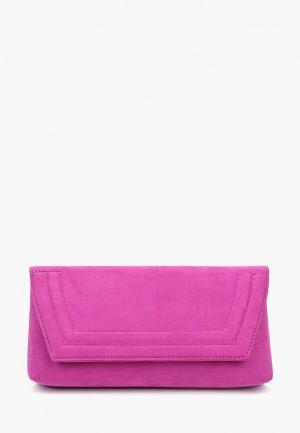 Клатч Dorothy Perkins. Цвет: розовый