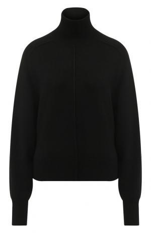 Кашемировый пуловер с высоким воротником Chloé. Цвет: черный