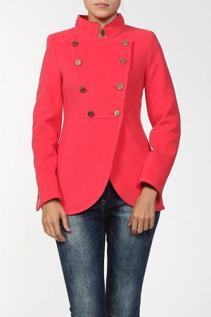 Пальто Exclusive. Цвет: красный