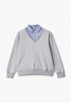 Джемпер Tforma. Цвет: серый