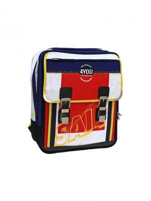 Рюкзак 4YOU МОРСКОЙ ВОЛК. Цвет: синий, белый, красный