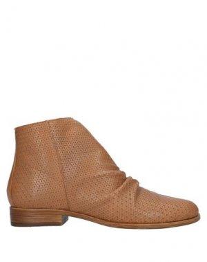 Полусапоги и высокие ботинки FORMENTINI. Цвет: желто-коричневый
