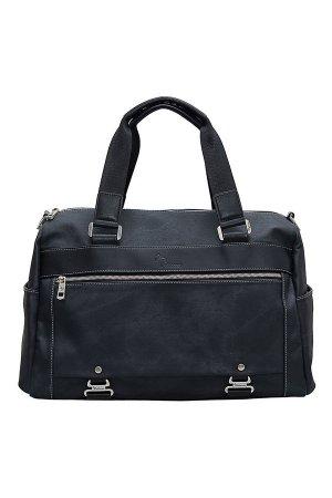 Дорожная сумка Pellecon. Цвет: чёрный