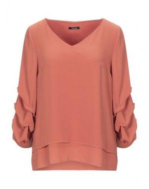 Блузка HANITA. Цвет: ржаво-коричневый