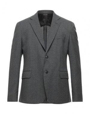 Пиджак BRIAN DALES. Цвет: серый
