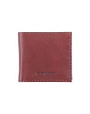 Бумажник ANN DEMEULEMEESTER. Цвет: коричневый