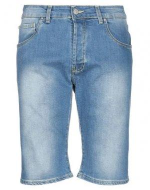 Джинсовые шорты LIU •JO MAN. Цвет: синий