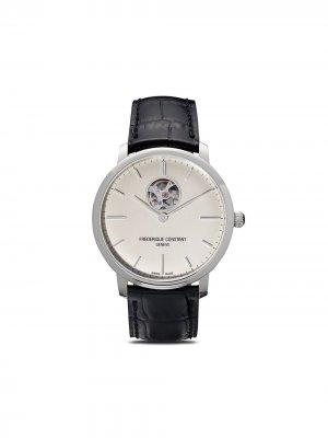 Наручные часы Slimline Heart Beat Automatic 40 мм Frédérique Constant. Цвет: белый