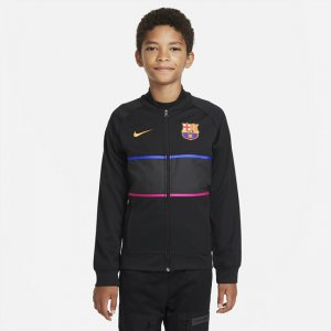 Футбольная куртка для школьников FC Barcelona - Черный Nike