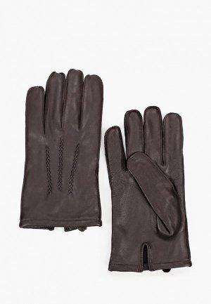 Перчатки United Colors of Benetton. Цвет: коричневый