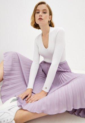 Пуловер Calvin Klein ICONS. Цвет: белый