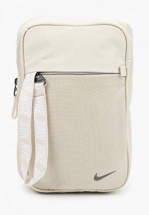 Сумка Nike SPRTSWR ESSENTIALS HIP PACK. Цвет: бежевый