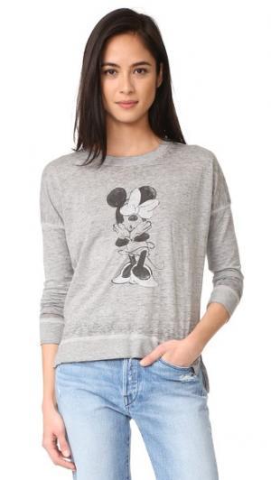Пуловер Minnie David Lerner. Цвет: серый