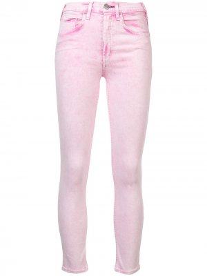 Укороченные джинсы Mcguire Denim. Цвет: розовый