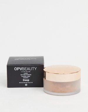 Фиксирующая пудра Beauty Deep-Бесцветный OPV