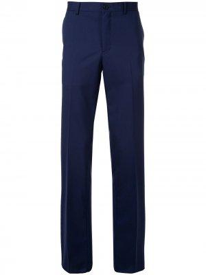 Классические брюки чинос Kent & Curwen. Цвет: синий