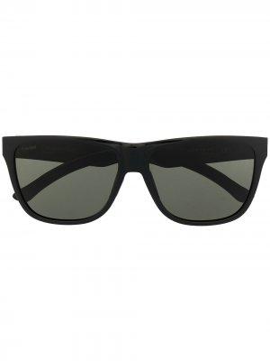 Солнцезащитные очки Lowdown Steel Smith. Цвет: черный