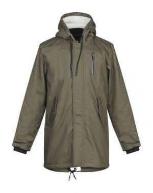 Пальто ANERKJENDT. Цвет: зеленый-милитари