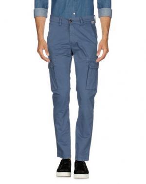 Повседневные брюки FRANKLIN & MARSHALL. Цвет: грифельно-синий