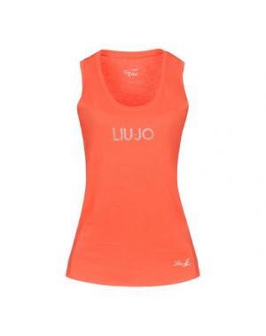 Футболка LIU •JO. Цвет: оранжевый