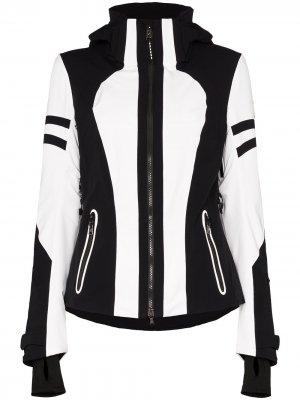 Лыжная куртка Dalia-T с капюшоном Bogner. Цвет: черный
