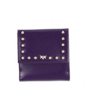 Бумажник PINKO. Цвет: фиолетовый