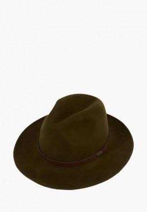 Шляпа Christys. Цвет: хаки