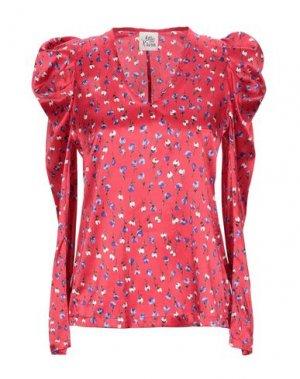 Блузка ATTIC AND BARN. Цвет: красный