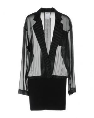 Короткое платье DKNY. Цвет: черный