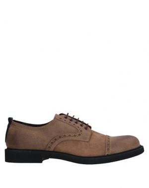 Обувь на шнурках BRUNO BORDESE. Цвет: песочный