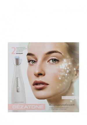 Прибор для очищения лица Gezatone MD-3a 933 Микродермабразия сапфировая. Цвет: белый