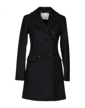 Пальто VDP COLLECTION. Цвет: черный