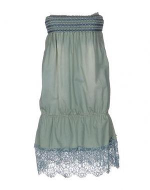Короткое платье G.SEL. Цвет: светло-зеленый