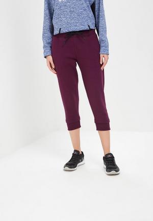 Бриджи Under Armour Slim leg Fleece Crop. Цвет: фиолетовый