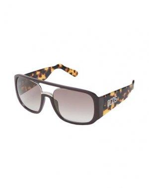 Солнечные очки GCDS. Цвет: баклажанный