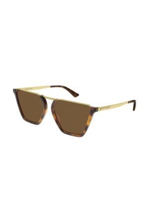 Очки солнцезащитные MCQ. Цвет: 002