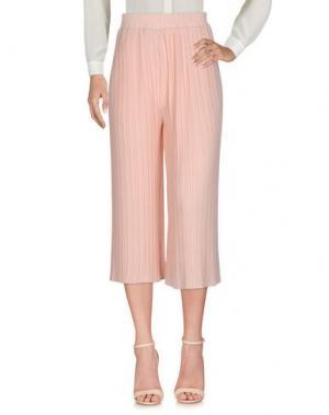 Повседневные брюки DARLING London. Цвет: розовый