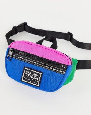 Многоцветная сумка-кошелек на пояс -Разноцветный Versace Jeans Couture