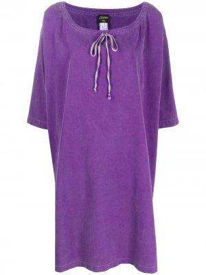 Платье-кафтан 1990-х годов Jean Paul Gaultier Pre-Owned. Цвет: фиолетовый