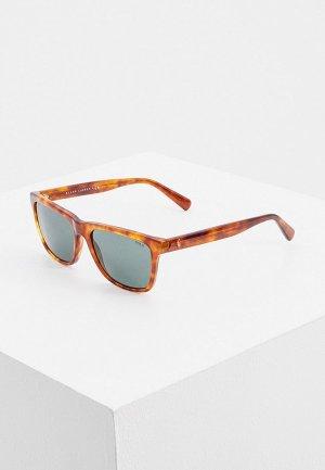 Очки солнцезащитные Polo Ralph Lauren PH4167 502371. Цвет: коричневый