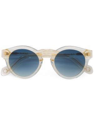 Солнцезащитные очки Marte Monocle Eyewear. Цвет: жёлтый и оранжевый